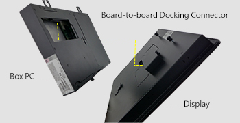 board to board docking connector