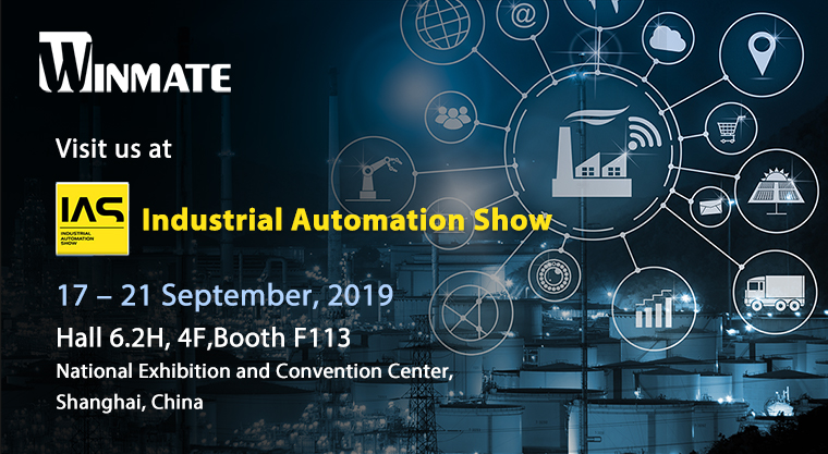 Winmate to Showcase Rugged Computing for Industrial Automationat 2019 IAS-CIIF