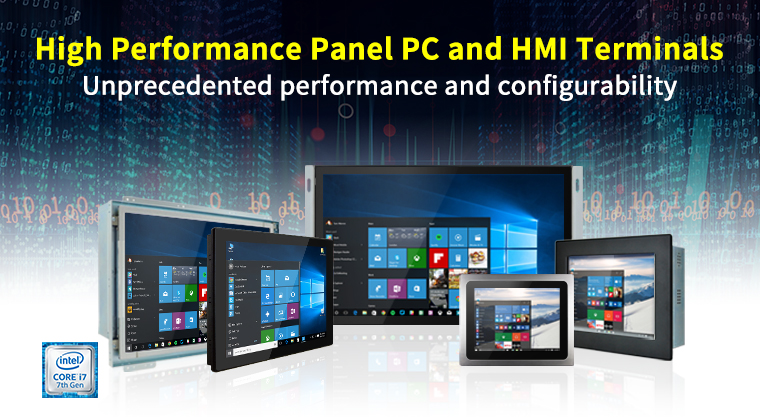 Winmate's High Performance Panel PC and HMI Terminals