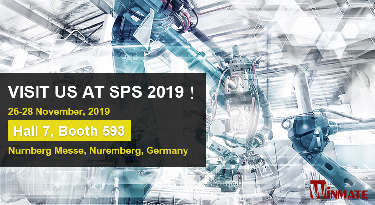 Winmate to Co-exhibit with TL Electronic at SPS 2019