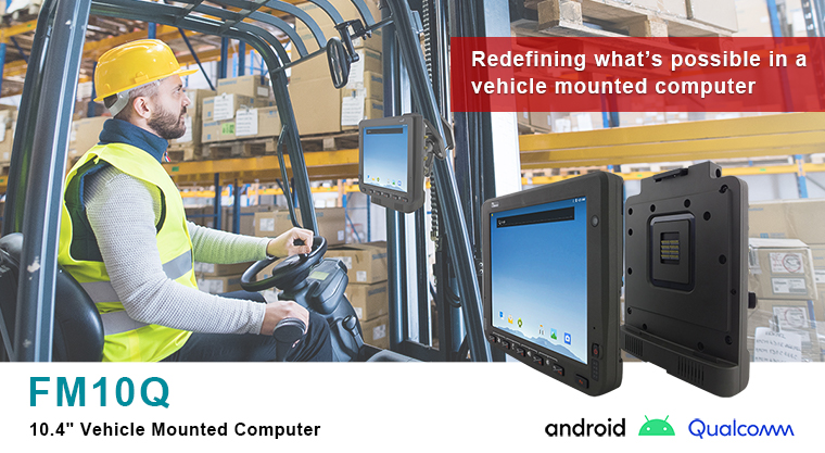 Winmate FM10Q Vehicle-Mounted Computer Now with Qualcomm© Snapdragon™ 660 CPU