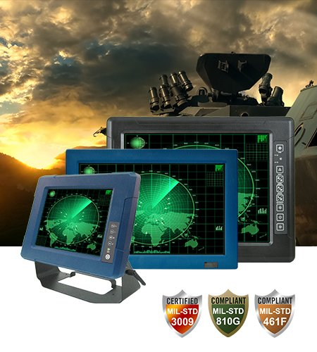 """Military G-WIN Vehicle Mount Computers 8.4""""/ 10.4""""/ 12.1""""/ 15"""""""
