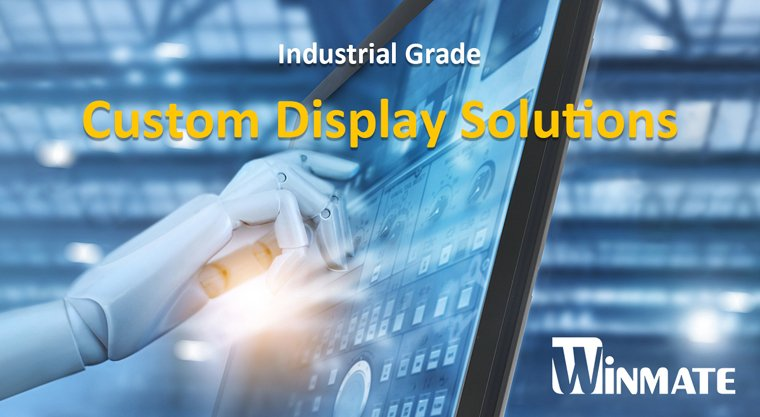 Winmate Unveils 32-inch PT Series Custom Touchscreen Display Solutions